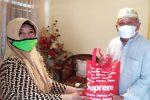 ) Baznas Sulteng mendistribusikan lebih dari 50 paket imunitas untuk para alim ulama